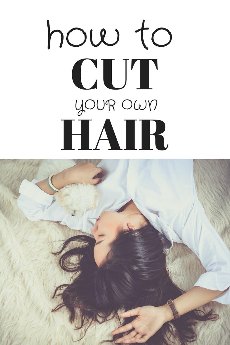 how to cut hair at home, DIY haircut, DIY hair care, easy hairstyles